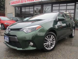 Used 2015 Toyota Corolla LE-BACK UP CAMERA-SUNROOF-BUETOOTH-HEATED SEATS for sale in Scarborough, ON