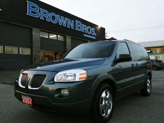 Used 2007 Pontiac Montana LOCAL, VERY LOW KM'S, 7 PASS for sale in Surrey, BC