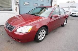 Used 2003 Nissan Altima 4DR SDN 2.5 for sale in Mascouche, QC