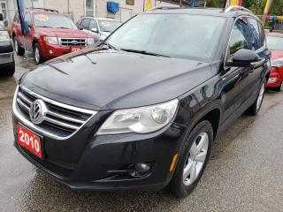 Used 2010 Volkswagen Tiguan 4MOTION AWD/LEATHER/PANORAMA ROOF/ONLY 146K/MINT!! for sale in Scarborough, ON