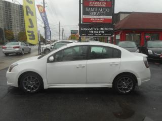 Used 2010 Nissan Sentra SE-R / NAV / ALLOYS / SPORT / BACK UP CAM /SUNROOF for sale in Scarborough, ON