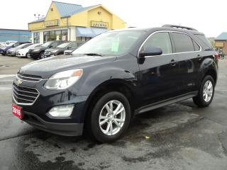 Used 2016 Chevrolet Equinox LT AWD 2.4L RemoteStart HeatedSeats BackUpCamera for sale in Brantford, ON