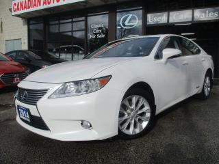 Used 2014 Lexus ES 300 H-HYBRID-ULTRA-PRM-PKG-NAV-LTHER-SUNROOF-CAMERA-BL for sale in Scarborough, ON