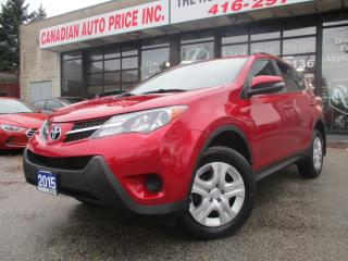 Used 2015 Toyota RAV4 RAV4-BACK UP CAMERA-BLUETOOTH-HEATED DEATS for sale in Scarborough, ON