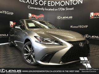 New 2019 Lexus ES 350 F Sport Series 2 for sale in Edmonton, AB