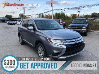 Used 2017 Mitsubishi Outlander ES | 1 OWNER | CAM | 4X4 | HEATED SEATS for sale in London, ON