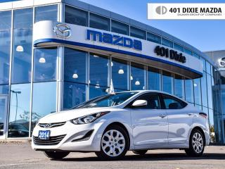 Used 2014 Hyundai Elantra GL, ONE OWNER, NO ACCIDENTS for sale in Mississauga, ON