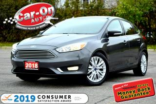 Used 2018 Ford Focus Titanium LEATHER SUNROOF REAR CAM NAV READY LOADED for sale in Ottawa, ON