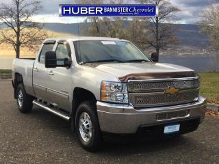 Used 2012 Chevrolet Silverado 2500 HD 4X4/ Diesel/ Bluetooth for sale in Penticton, BC