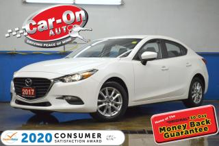Used 2017 Mazda MAZDA3 SE LEATHER REAR CAM HTD SEATS BLUETOOTH ALLOYS for sale in Ottawa, ON