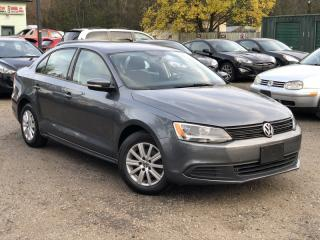 Used 2011 Volkswagen Jetta Sedan LOW KMS No-Accidents 2.0L Auto Comfortline Power Group A/C for sale in Holland Landing, ON
