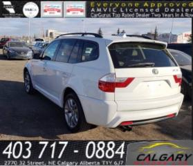 Used 2007 BMW X3 AWD 4dr 3.0si for sale in Calgary, AB