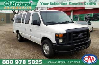 Used 2011 Ford Econoline Wagon XLT for sale in Saskatoon, SK