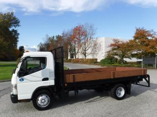 Used 2012 Mitsubishi Fuso 3 Passenger FE180 14 Foot Flat Deck Dually Diesel for sale in Burnaby, BC