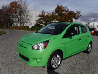 Used 2015 Mitsubishi Mirage ES Hatchback for sale in Burnaby, BC