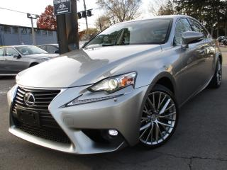 Used 2015 Lexus IS 250 AWD~ONE OWNER~39KMS~LOW KMS~SUNROOF !! for sale in Burlington, ON