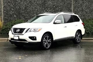 New 2019 Nissan Pathfinder Platinum V6 4x4 at for sale in Vancouver, BC