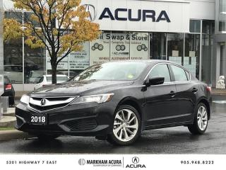 Used 2018 Acura ILX Premium 8DCT - Blind Spot Indicators   Rearview Camera for sale in Markham, ON