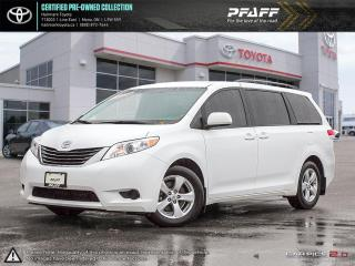 Used 2014 Toyota Sienna LE 8 Pass V6 6A ONE OWNER, SERVICED HERE for sale in Orangeville, ON