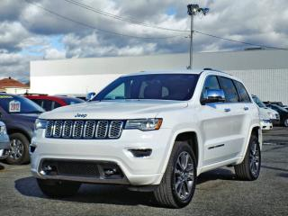Used 2017 Jeep Grand Cherokee OVERLAND *CUIR*TOIT*GPS*HITCH* for sale in Brossard, QC