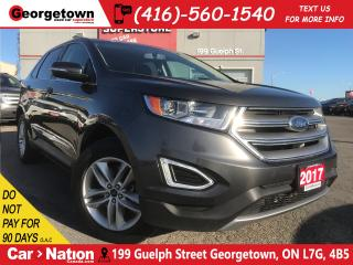 Used 2017 Ford Edge SE AWD| B/U CAM| HTD SEATS| PUSH START| PWR SEATS for sale in Georgetown, ON