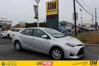 Used 2018 Toyota Corolla CE for sale in Salaberry-de-Valleyfield, QC