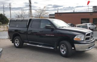 Used 2012 RAM 1500 ST QUAD CAB 4X4 for sale in Ottawa, ON