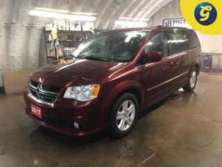 Used 2017 Dodge Grand Caravan Crew Plus * Leather * Power liftgate Right & Left power sliding door * Dual Climate control * Heated front seats/steering wheel  * Stow and go * U con for sale in Cambridge, ON