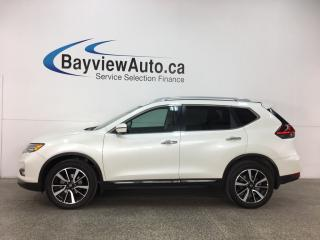Used 2018 Nissan Rogue SL - AWD! REMOTE START! HTD LTHR! PANOROOF! NAV! REVERSE CAM! BLUETOOTH! BOSE SOUND! for sale in Belleville, ON