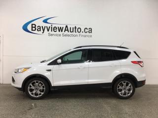 Used 2014 Ford Escape - KEYPAD! ECOBOOST! PANOROOF! SYNC! REVERSE CAM! PWR LIFTGATE! for sale in Belleville, ON