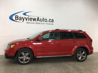Used 2018 Dodge Journey Crossroad - 7 PASS! 3 ZONE CLIMATE! REMOTE START! U-CONNECT! CRUISE! for sale in Belleville, ON