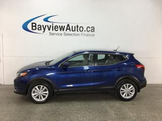 Used 2018 Nissan Qashqai SV - REMOTE START! SUNROOF! HTD SEATS! REVERSE CAM! BLUETOOTH! for sale in Belleville, ON