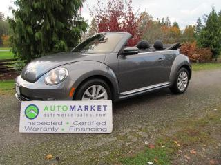 Used 2013 Volkswagen Beetle HIGHLINE, NAVI, AUTO, INSP, FREE WARRANTY, FINANCING! for sale in Surrey, BC