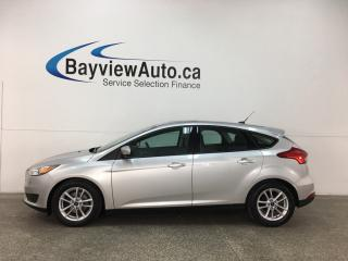 Used 2015 Ford Focus - SUNROOF! HTD SEATS! A/C! SYNC! CRUISE! PWR GROUP! for sale in Belleville, ON