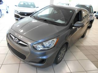 Used 2013 Hyundai Accent GL ** SIEGE CHAUFFANT, BLUETOOTH, CRUISE for sale in Montréal, QC