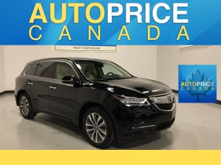 Used 2016 Acura MDX Navigation Package NAVIGATION|REAR CAM|LEATHER for sale in Mississauga, ON