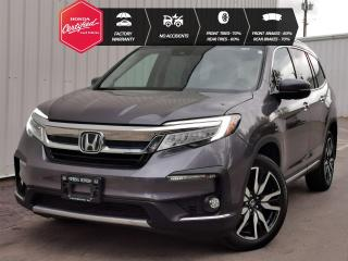 Used 2019 Honda Pilot Touring EXTENDED WARRANTY, NO ACCIDENTS, ONE OWNER, PAINT PROTECTION FILM, NEW WINDSHIELD for sale in Cranbrook, BC