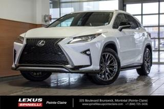 Used 2019 Lexus RX 350 AWD for sale in Montréal, QC