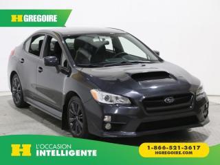Used 2016 Subaru WRX AWD TURBO MAGS for sale in St-Léonard, QC