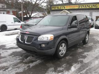 Used 2009 Pontiac Montana Sv6 w/1SA 3.9L 6cyl 7pass AC Cruise PL PM PW for sale in Ottawa, ON