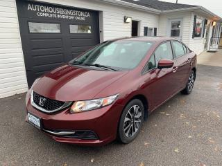 Used 2015 Honda Civic EX for sale in Kingston, ON