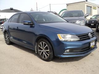 Used 2015 Volkswagen Jetta comfortline SUN ROOF,BACKUP CAMERA for sale in Oakville, ON