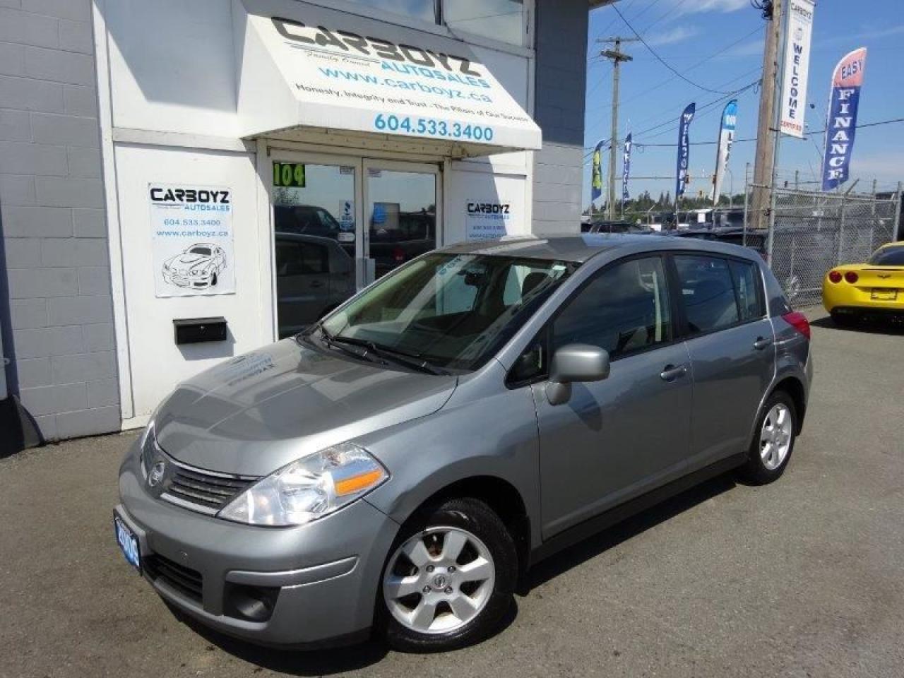2009 Nissan Versa SL Hatchback, Automatic, Bluetooth, 113, 082 Kms
