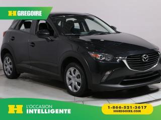 Used 2016 Mazda CX-3 GX AWD A/C GR for sale in St-Léonard, QC