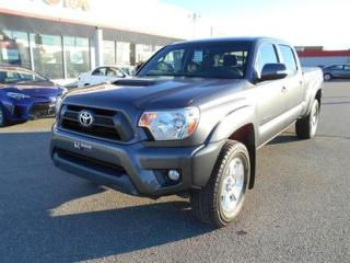 Used 2015 Toyota Tacoma 4WD Double Cab V6 TRD for sale in Matane, QC