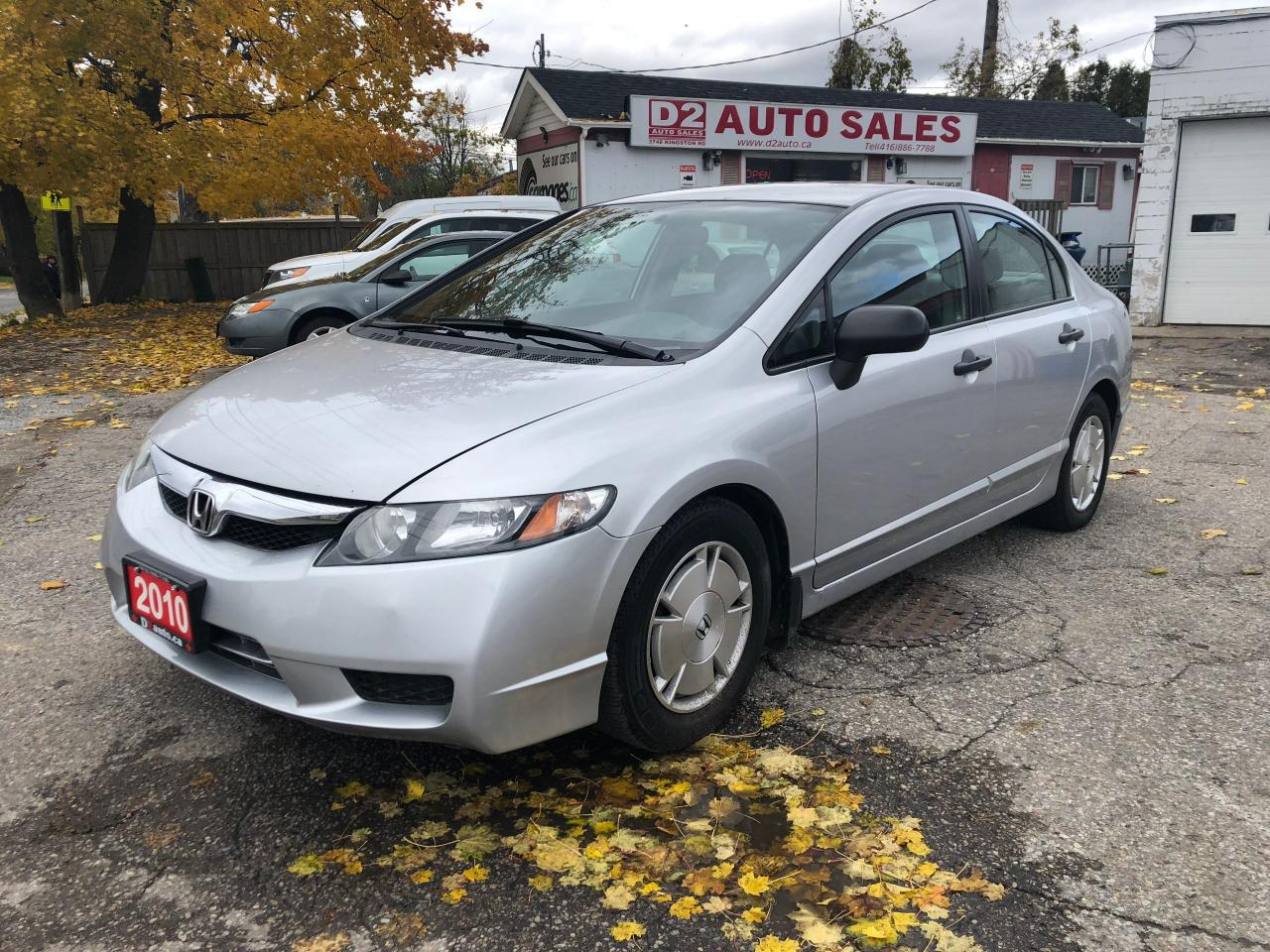 2010 Honda Civic Certified/Automatic/Gas Saver/Low KM