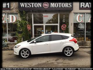 Used 2012 Ford Focus TITANIUM*PWR GRP*LEATHER*SUNROOF*BTOOTH!!* for sale in Toronto, ON