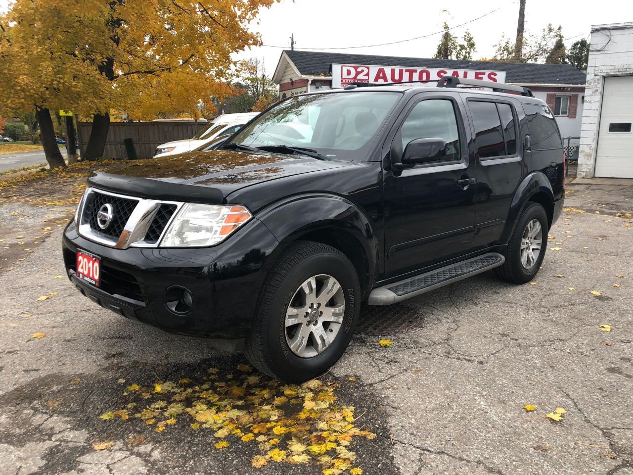 2010 Nissan Pathfinder Certified/Backup Cam/Heated Seats/7 Passenger
