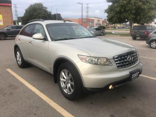 Used 2007 Infiniti FX35 for sale in Burlington, ON