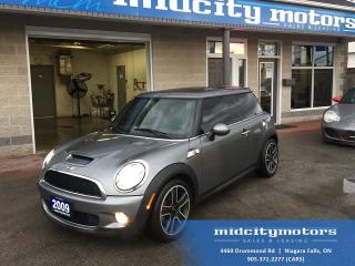 Used 2009 MINI Cooper S Dual Sunroof/ Leather heated seats/ Bluetooth for sale in Niagara Falls, ON